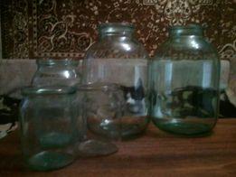 Банки стеклянные для домашнего консервирования 3 л.