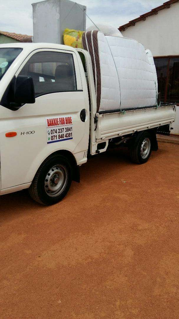 Bakkie For Hire 0