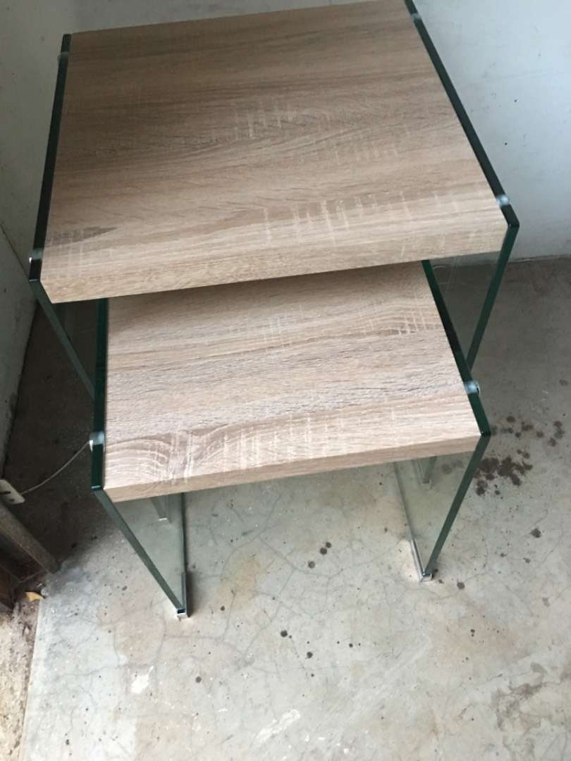 Two side tables 0