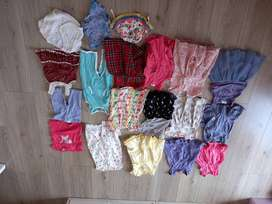 3-6 month Baby girl clothes (40+ items)