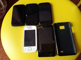 5 шт нерабочий HTC desire v samsung gt-s5660 Umi X1s телефон смартфон