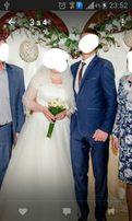 Весільна сукня свадебное платье Айворі 48-50р