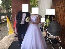Suknia ślubna z kolekcji sweetheart + welon