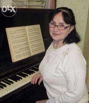 Уроки игры на фортепиано. Киев