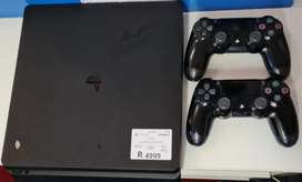 PS4 Console with 2x Wireless Remotes
