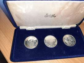 Silver 3 Piece  Limited Edtion 1986 SetR750
