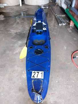 Fishing Kayak. A must see for the serious fishermen.