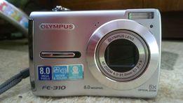 Фотоаппарат olympus FE-310+ 1Гб карта памяти, без аккумуляторов
