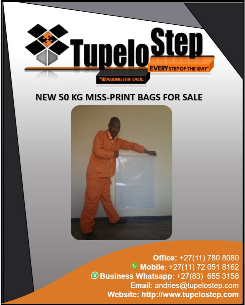 50 Kg Bags For Sale (NEW Miss-Prints) 0