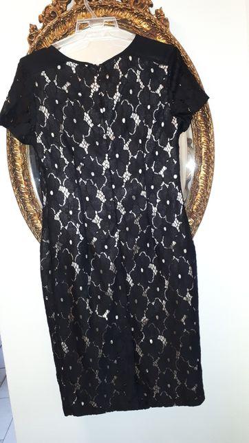 Sukienka koronka czarna s/M George Zielona Góra - image 4