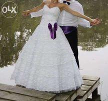 Suknia ślubna - sprzedaż /zamiana ślub wesele panna młoda okazja Promo