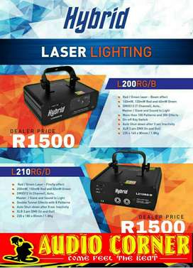 Hybrid Lazer lights New