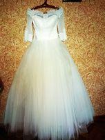 Свадебное платье (осень-весна). Размер 42-46