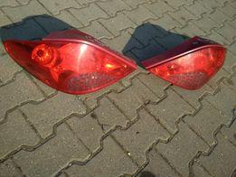 Tylne lampy Peugeot 207 prawa lewa cena za komplet Lublin dobra cena