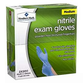 QUALITY NITRILE AND LATEX GLOVES FOR SALE