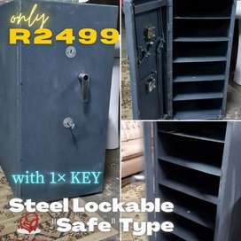 Steel Lockable Cabinet similar to a Safe