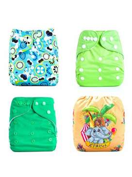 Eco friendly reusable diapers
