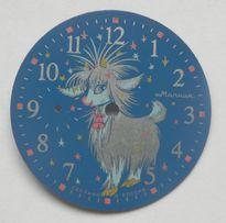 cyferblat - tarcza do zegarka molnija z klapką.