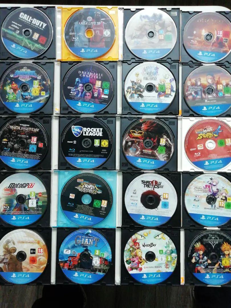 Hry na Playstation 4  300 Kč /kus 0