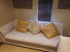 Two piece couch