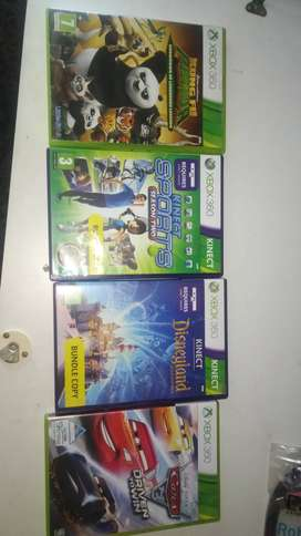 Xbox 360 games(practically new)