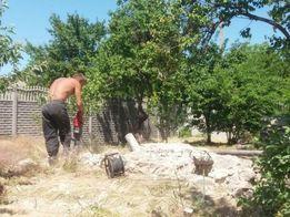 Демонтаж.Копка.Ямы.Сантехник.Демонтажные земляные бетонные работы.