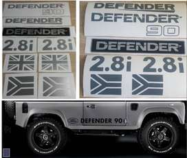 Land Rover Defender 90 2.8i decals stickers graphics