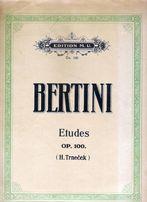 Unikat !!! Nuty na fortepian - Bertini - Etiudy op. 100