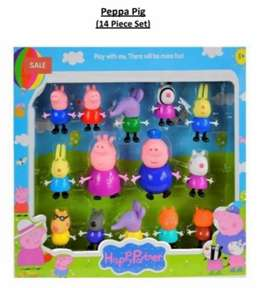 NEW Peppa pig character set