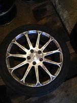 литые диски R17 VW \ Aud \ Skoda 5x112 et 45 с хорошей резиной !