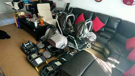 PEG PEREGO COMPLETE TWIN TRAVEL SYSTEM
