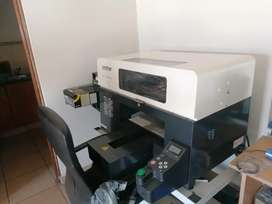 Direct To Garment (DTG) printer - hardly used REDUCED- URGENT SALE!