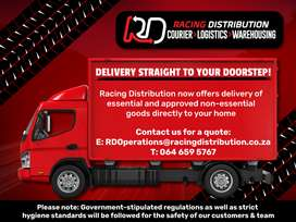 Courier and distribution services