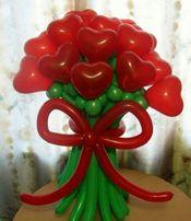Цветы и букеты из шаров на заказ