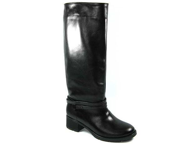 Высокие демисезонные кожаные сапоги с премиум кожи lordans Херсон - изображение 1