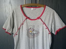 Koszula nocna ciążowa rozpinana rozmiar S