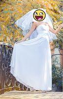"""Свадебное платье в греческом стиле """"Афина"""""""