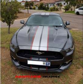 FORD MUSTANG DECALS (STICKERS)