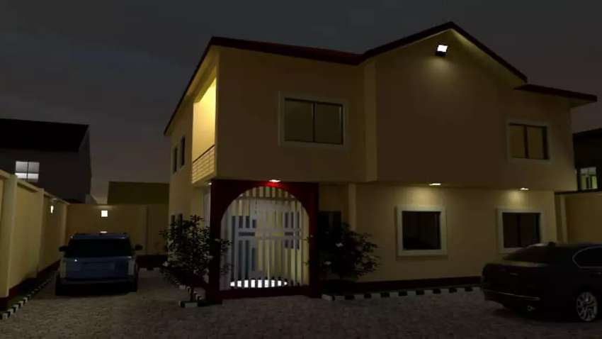 4 bedroom duplex for sale in an estate at new oko Oba agege Lagos 0