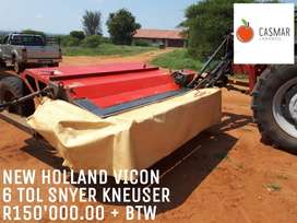NEW HOLLAND VICON 6 TOL SJYER KNEUSER
