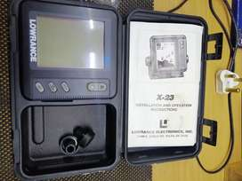 Lowrance fish finder head unit only for sale
