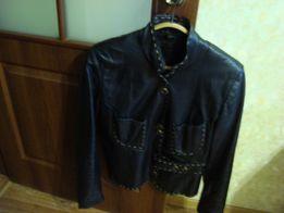 Кожаная куртка женская р.48