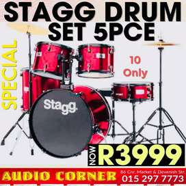 Stagg Drum Set Brand New Special Price