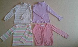 Гольфы кофта Reserved свитер Benetton для девочки 3-4 года