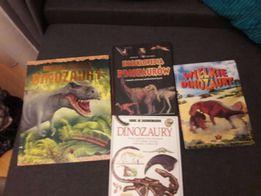 Książki encyklopedie dinozaury o dinozaurach