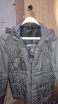 Продам мужскую курточку серого цвета