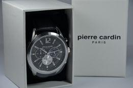 Zegarek męski Pierre Cardin PC108081F01 Saint-Ouen Black Silver