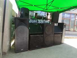 Sound and disco light available for bookings