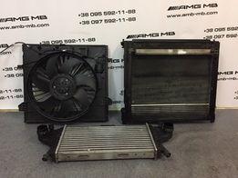 Радиатор Интеркулер GL GLE ML GLS 166 Мерседес Разборка