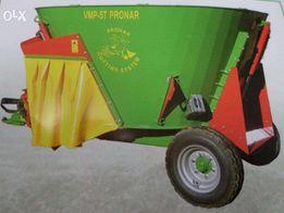 Wóz paszowy PRONAR VMP 5 ST - 2,3 tony - Wysyp bok/tył